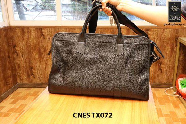 Cặp túi xách da hột nam CNES TX072 003