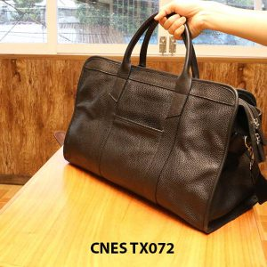 Cặp túi xách da hột nam CNES TX072 002