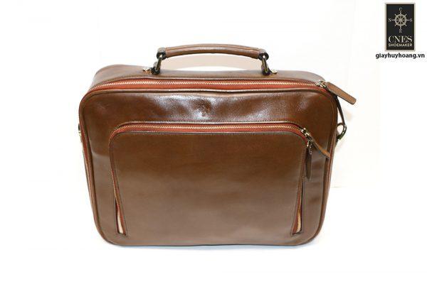 Túi đeo chéo da bò CNES T46 002