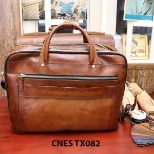 Cặp túi xách da bò nam CNES TX082 003
