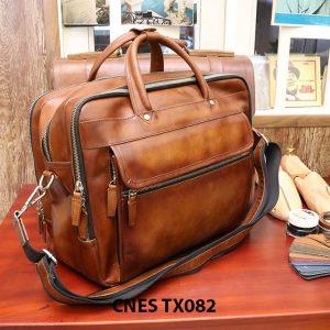 Cặp túi xách da bò nam CNES TX082 002