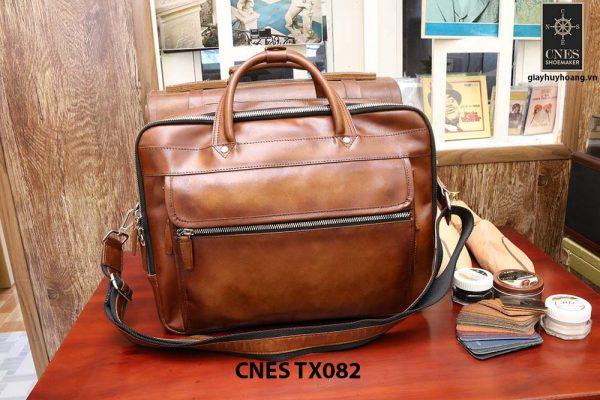 Cặp túi xách da bò nam CNES TX082 001