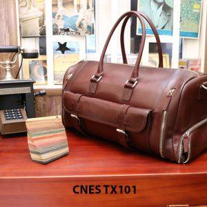 Túi xách du lịch da bò CNES TX101 001