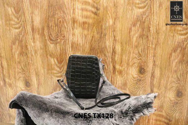 Túi ví nữ da bò dập cá sấu CNES TX128 002