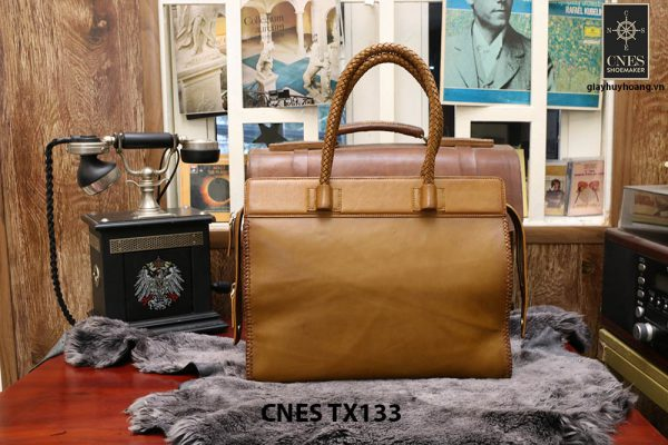 Túi cầm tay da bê chất lượng CNES TX133 003