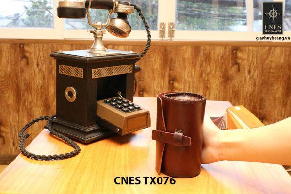 Hộp da đựng phụ kiện giày tây CNES TX076 005