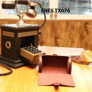 Hộp da đựng phụ kiện giày tây CNES TX076 004