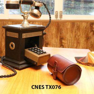 Hộp da đựng phụ kiện giày tây CNES TX076 003