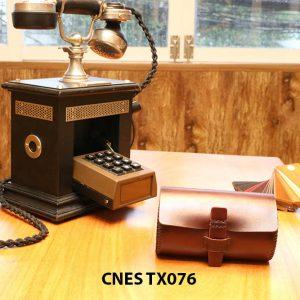 Hộp da đựng phụ kiện giày tây CNES TX076 002