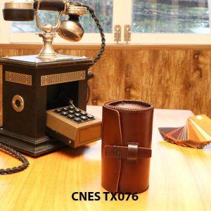 Hộp da đựng phụ kiện giày tây CNES TX076 001