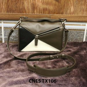 Túi đeo cao cấp da bò CNES TX106 001