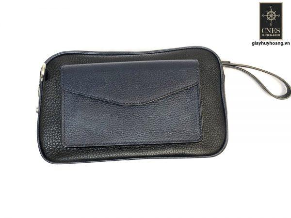 Túi ví cầm tay Clutch da bò CNES T25 001