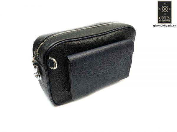 Túi ví cầm tay Clutch da bò CNES T25 003