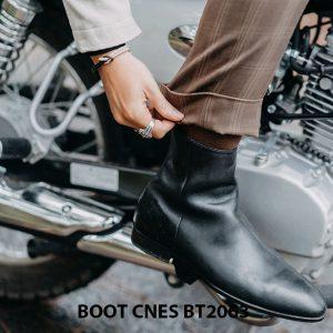 Giày tây Boot nam da trơn CNES BT2063 004