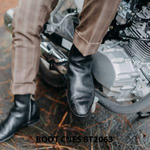 Giày tây Boot nam da trơn CNES BT2063 002