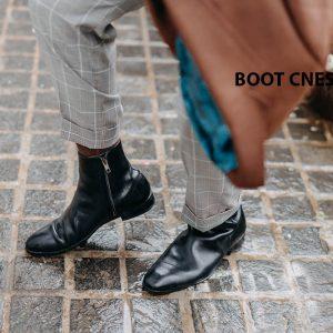 Giày tây Boot nam da trơn CNES BT2063 001