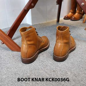 [Outlet size 41] Giày Boot cổ cao buộc dây Knar KCK0036G 004