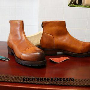 [Outlet size 40] Giày Boot cổ cao thời trang Knar KZB0037G 005