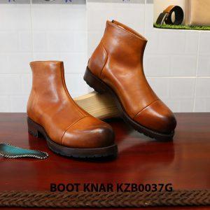 [Outlet size 40] Giày Boot cổ cao thời trang Knar KZB0037G 004