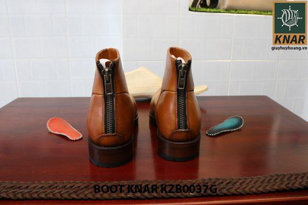 [Outlet size 40] Giày Boot cổ cao thời trang Knar KZB0037G 003