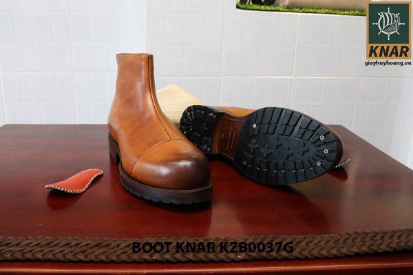 [Outlet size 40] Giày Boot cổ cao thời trang Knar KZB0037G 002