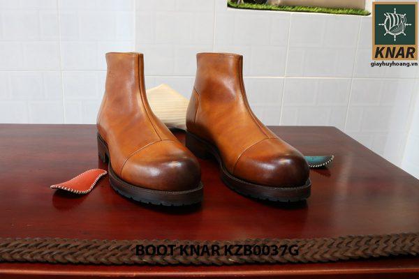 [Outlet size 40] Giày Boot cổ cao thời trang Knar KZB0037G 001