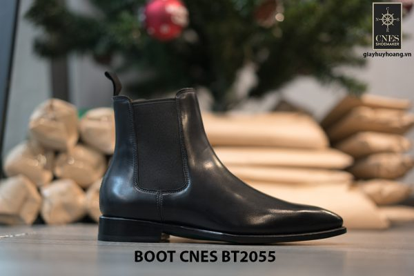 Giày Boot nam cổ cao da bò CNES BT2055 004