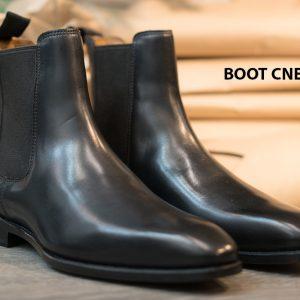 Giày Boot nam cổ cao da bò CNES BT2055 001