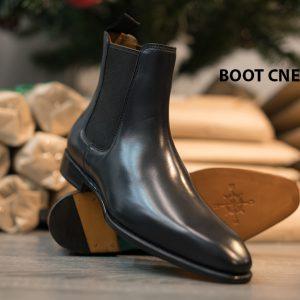Giày Boot nam cổ cao da bò CNES BT2055 002