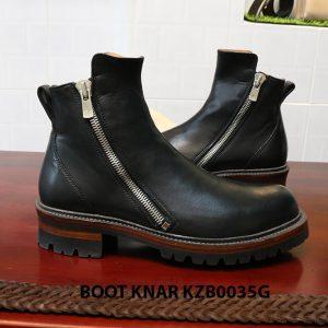 [Outlet size 41] Giày Boot dây kéo Knar KZB0035G 003