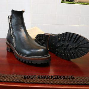 [Outlet size 41] Giày Boot dây kéo Knar KZB0035G 002