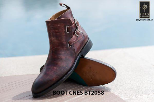Giày da Boot nam kiểu khoá CNES BT2058 006