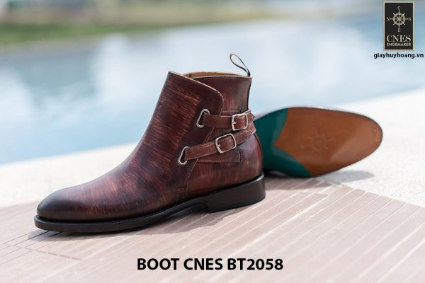 Giày da Boot nam kiểu khoá CNES BT2058 005