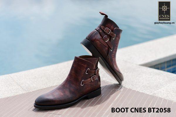 Giày da Boot nam kiểu khoá CNES BT2058 004