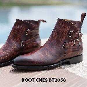 Giày da Boot nam kiểu kho3á CNES BT2058 00