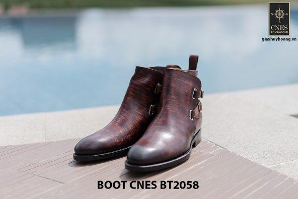 Giày da Boot nam kiểu khoá CNES BT2058 001