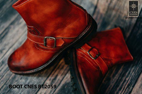 Giày khoá kéo Boot nam phong cách CNES BT2059 005