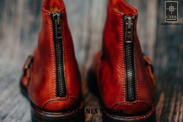 Giày khoá kéo Boot nam phong cách CNES BT2059 004