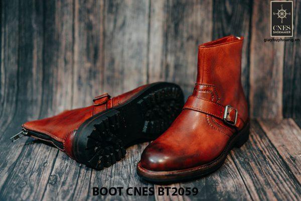 Giày khoá kéo Boot nam phong cách CNES BT2059 003
