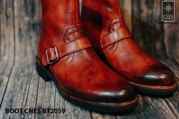 Giày khoá kéo Boot nam phong cách CNES BT2059 002