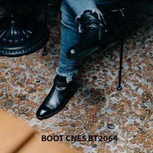 Giày tây Boot nam khoá kéo CNES BT2064 003