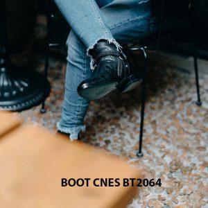Giày tây Boot nam khoá kéo CNES BT2064 002