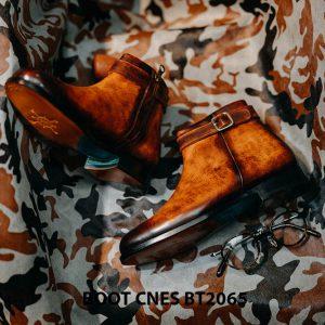 Giày tây Boot kéo phong cách CNES BT2065 004