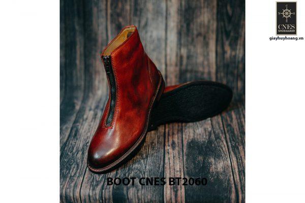 Giày tây Boot nam dây kéo CNES BT2060 004