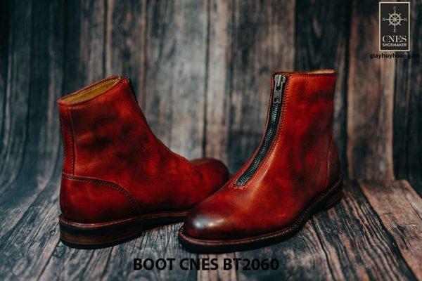 Giày tây Boot nam dây kéo CNES BT2060 003