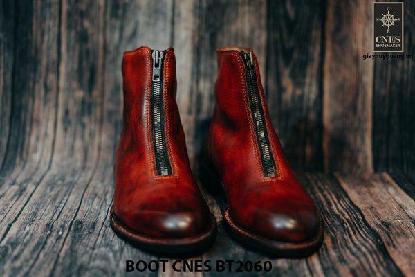 Giày tây Boot nam dây kéo CNES BT2060 001