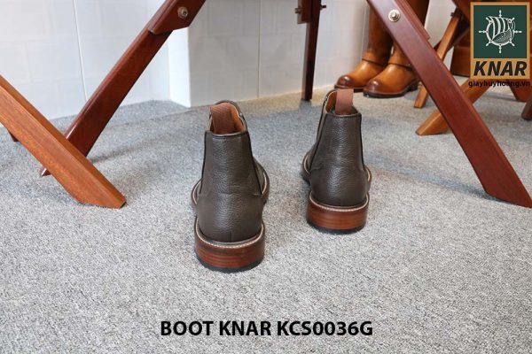 [Outlet size 42] Giày Chelsea Boot thun Knar KCS0036G 005