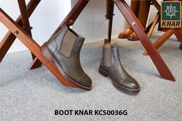 [Outlet size 42] Giày Chelsea Boot thun Knar KCS0036G 004