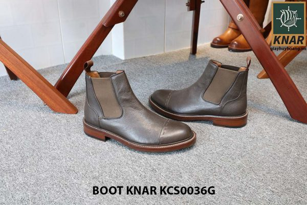 [Outlet size 42] Giày Chelsea Boot thun Knar KCS0036G 003