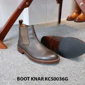 [Outlet size 42] Giày Chelsea Boot thun Knar KCS0036G 002